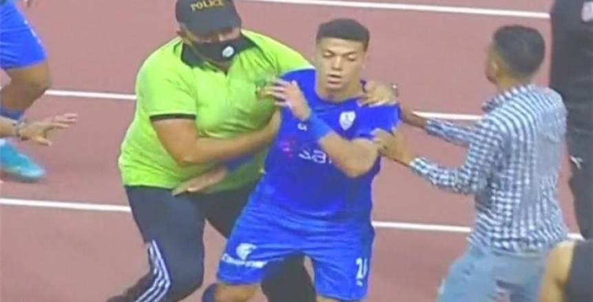 بعد واقعة البصق وضرب المنافس.. الحكم ينقذ إمام عاشور من الإيقاف