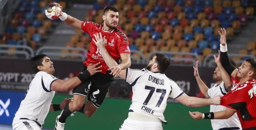 بث مباشر مباراة مصر وروسيا في بطولة العالم لكرة اليد
