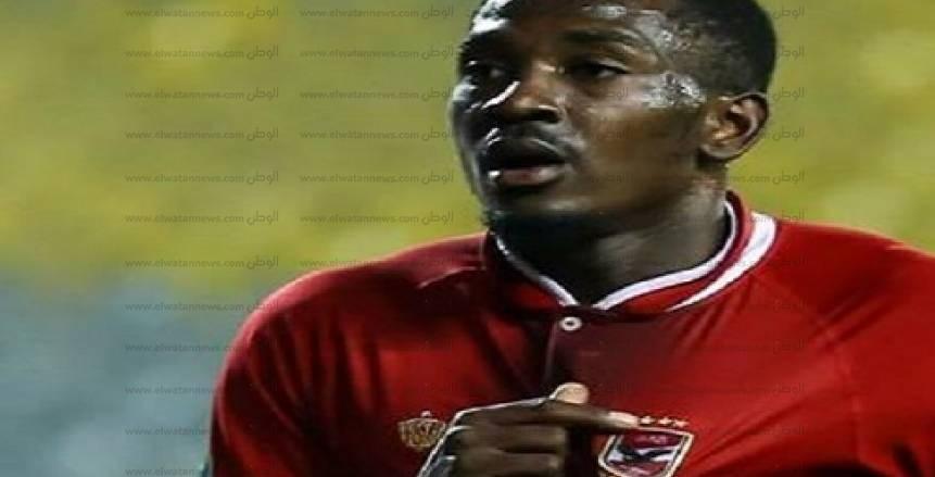 بالفيديو| الأهلي يحرز ثاني أهدافه في شباك الداخلية بقدم «أجايي»