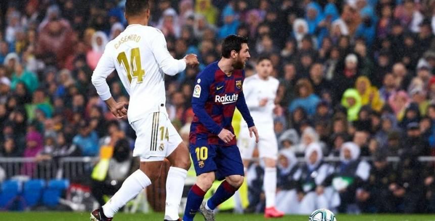 ريال مدريد يهزم برشلونة بثنائية