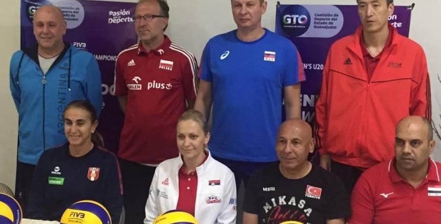 اليوم.. مصر وبولندا فى ضربة البداية ببطولة العالم لشابات الكرة الطائرة بالمكسيك
