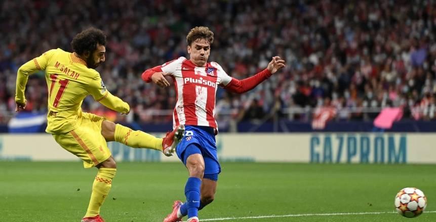 صلاح يواصل كتابة التاريخ ويقود ليفربول للفوز على أتلتيكو مدريد «فيديو»