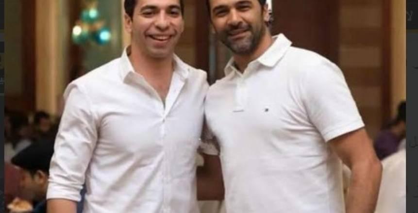 أحمد الأحمر يدعم حسين زكي وحسن يسري بعد الرحيل عن الزمالك (صور)