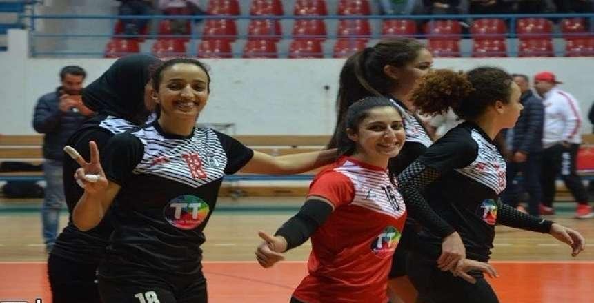 البطولة العربية للطائرة| فتيات الصفاقسي يفزن بسهولة على المحرق البحريني