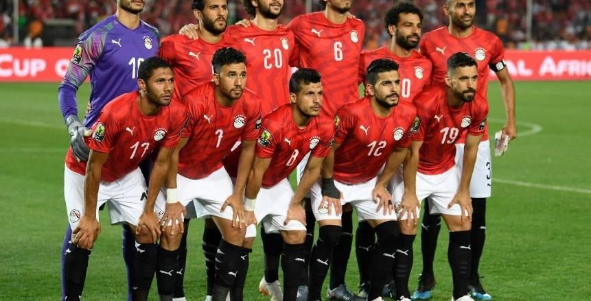 تعديل في زي منتخب مصر أمام الكونغو بتعليمات من مراقب المباراة