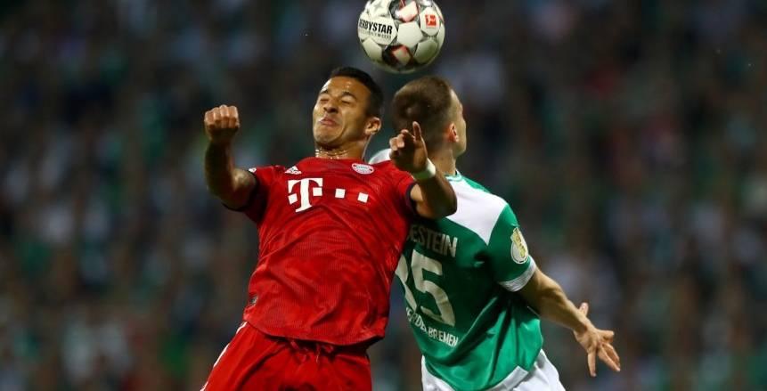 بايرن ميونخ إلى نهائي كأس ألمانيا بعد إسقاطه بريمن بثلاثية