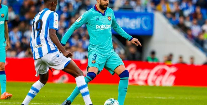 التعادل الإيجابي يحسم مواجهة برشلونة وريال سوسيداد (فيديو)