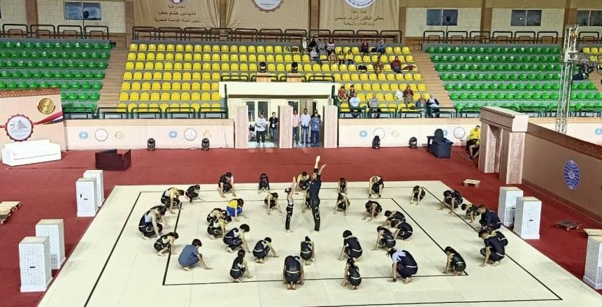 الاستعدادات النهائية لافتتاح بطولة