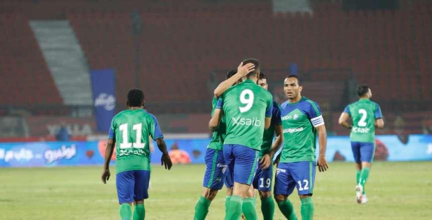 نهاية المباراة الباهتة بين مصر المقاصة والمقاولون بالتعادل السلبي