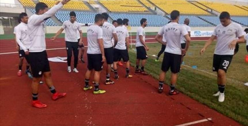 منتخب مصر بالقميص الأبيض أمام البرتغال