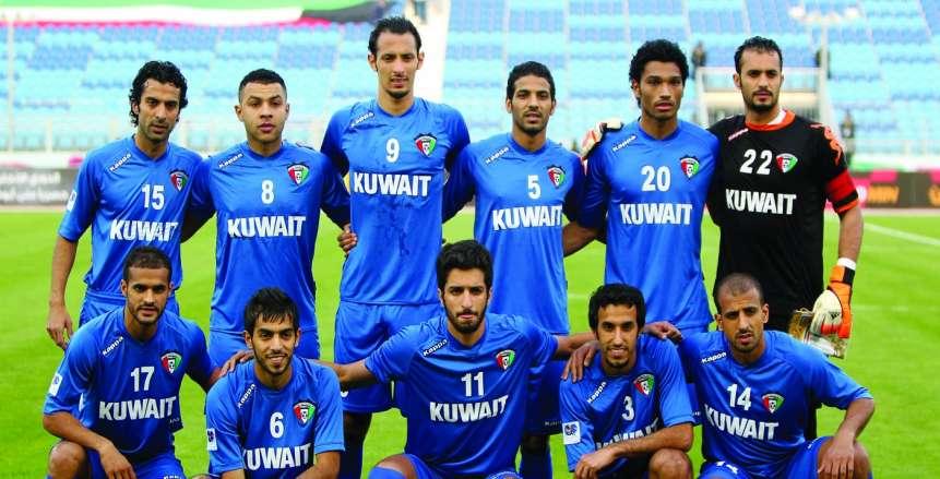 منتخب الكويت يجري حصصا تدريبية استعدادا لمواجهة الفراعنة