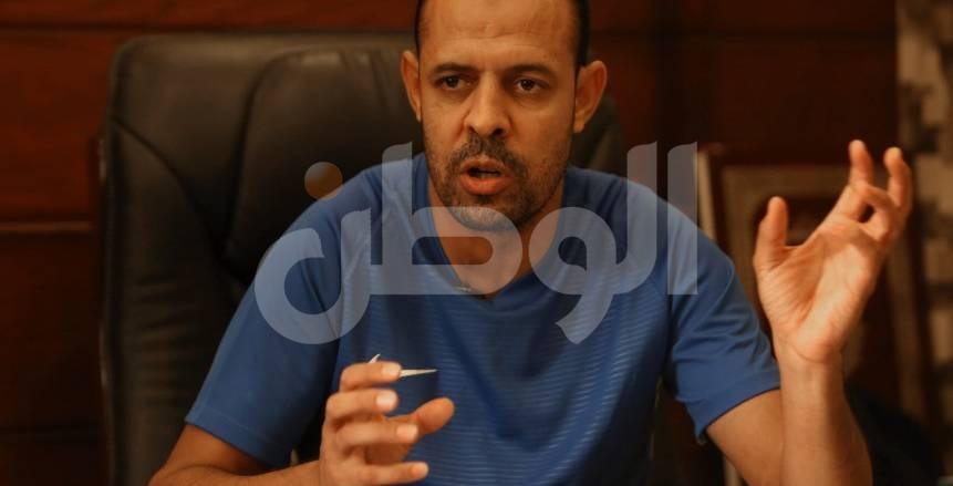 عماد النحاس: أحلم بإنهاء المقاولون للدوري في المربع الذهبي