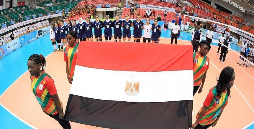 اليوم سيدات مصر للطائرة في مواجهة كينيا بنصف نهائي أمم أفريقيا