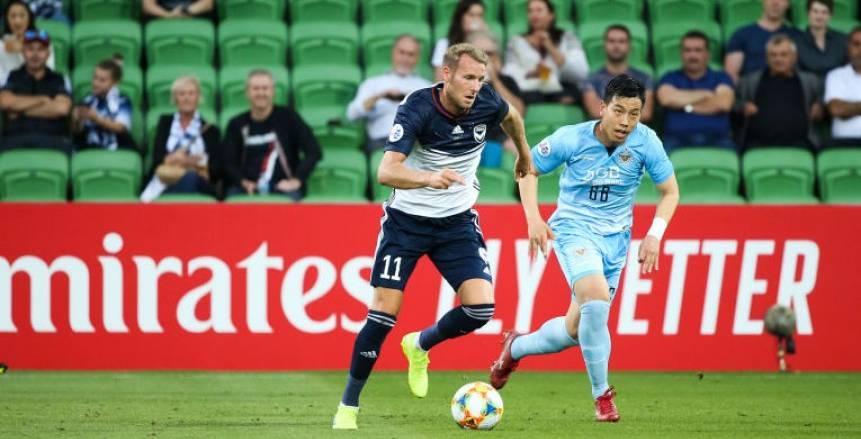 بالصور  ملبورن الاسترالي يسقط بملعبه أمام دايجو الكوري في دوري أبطال آسيا