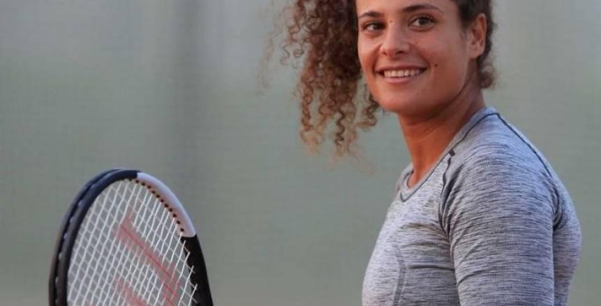 خاص.. ميار شريف: الضغط العصبي سبب خسارتي في بطولة استراليا المفتوحة