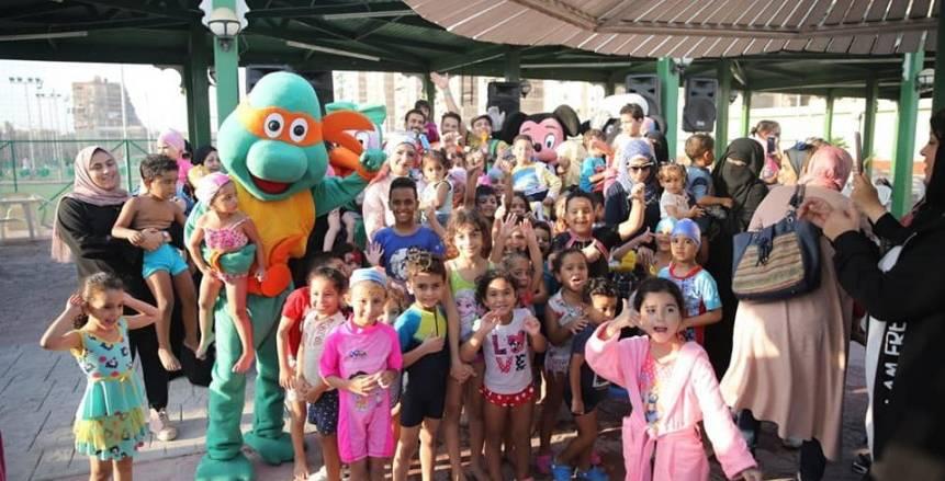 المصري ينظم حفل ختام النشاط الصيفي لـ «أكاديمية السباحة» و«الألعاب المائية»