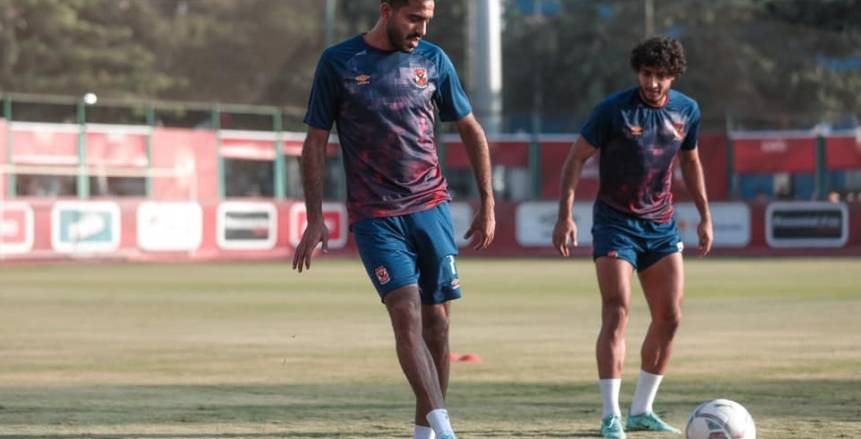تدريبات الأهلي استعدادًا لمواجهة المصري في الدوري الممتاز 2021