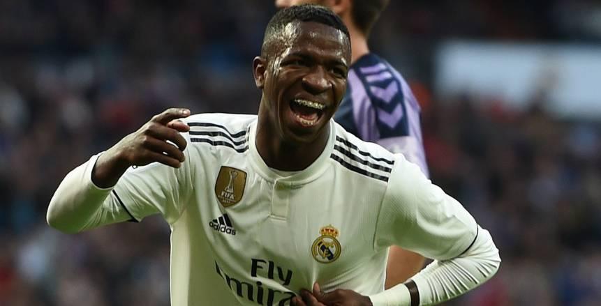 فينسيوس يقود ريال مدريد لانتصار صعب على بلد الوليد بالدوري الإسباني