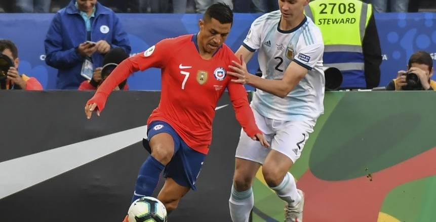 كوبا أمريكا.. مباراة الأرجنتين وتشيلي