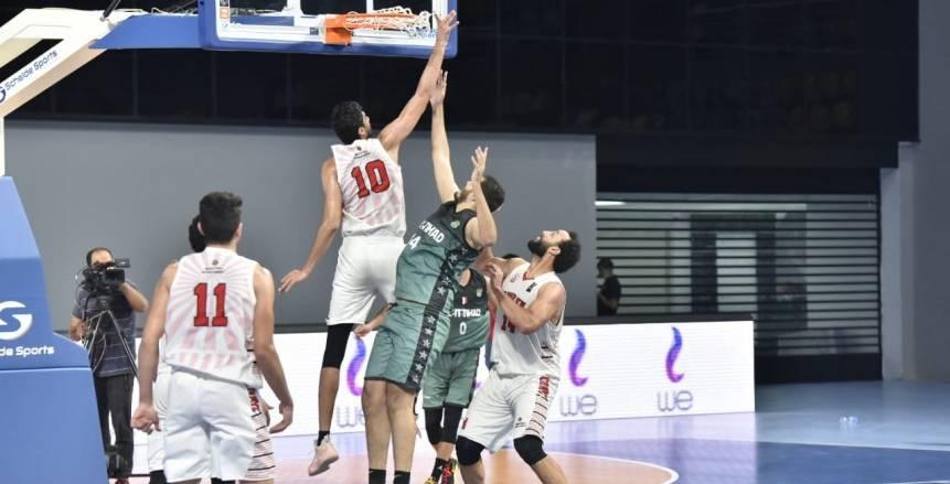 موعد مباراة الزمالك والاتحاد في ثالث جولات نهائي دوري السلة