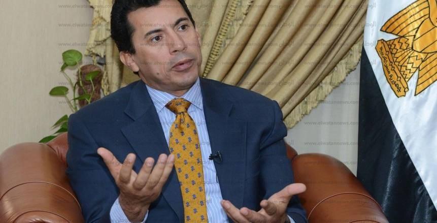 وزير الرياضة:  نسعى لدعم الاتحادات الرياضية في تنظيم البطولات العالمية