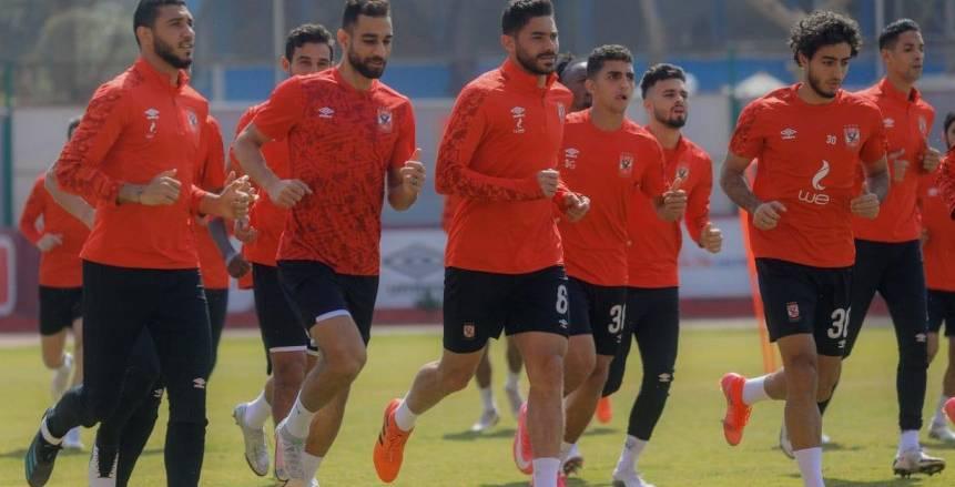 مران الأهلي: أيمن أشرف يواصل التأهيل.. وموسيماني يجتمع بطبيب الفريق