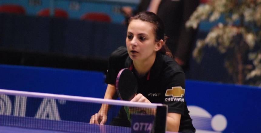 دينا مشرف تحصد لقب البطولة الأفريقية لتنس الطاولة