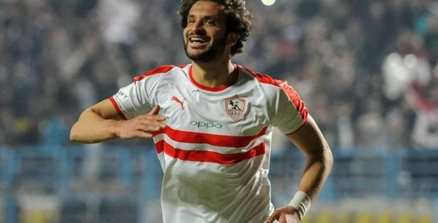 بعد ثنائية حرس الحدود.. محمود علاء يدخل التاريخ في مسيرته مع الزمالك