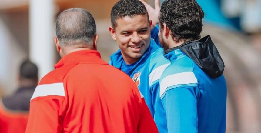 سعد سمير يعود إلى تدريبات الأهلي بعد 8 أسابيع