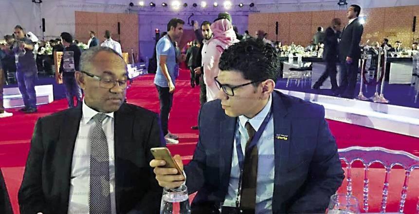 """أحمد أحمد يتحدث لـ""""الوطن"""": مصر قاعدة أساسية فى الكرة الأفريقية.. والحديث عن نقل المقر ماضى"""
