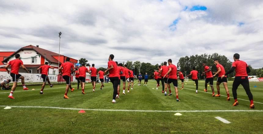 الجمعة.. الأهلي يواجه فريق أوليمبيا السلوفيني