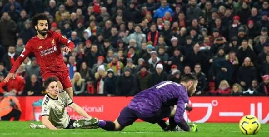 تقارير: تحدي محمد صلاح ودي خيا يحسم قمة ليفربول ومانشستر يونايتد