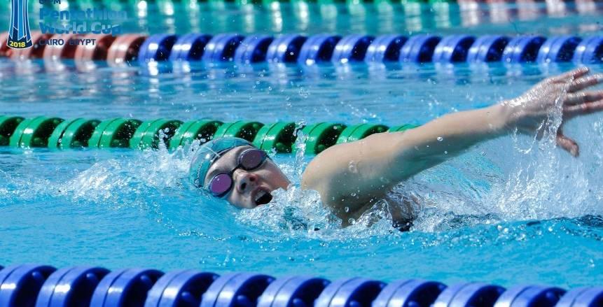 عبد الرحمن سامح يحصد فضية السباحة بألعاب البحر المتوسط