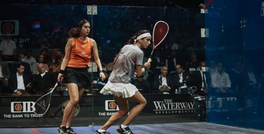 نوران جوهر تفوز بلقب بطولة مصر الدولية المفتوحة للأسكواش 2021
