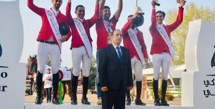 180 فارسا في البطولة الدولية للفروسية المؤهلة لنهائيات كأس العالم بأمريكا