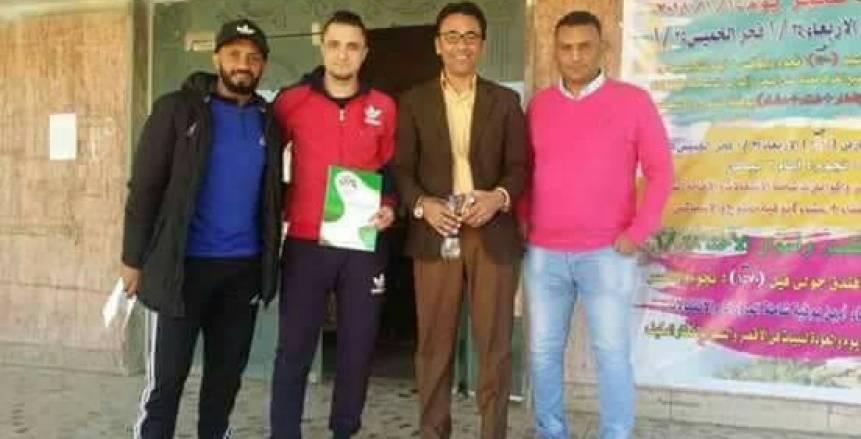 أسوان يتعاقد مع أحمد منصور مهاجم بنى سويف