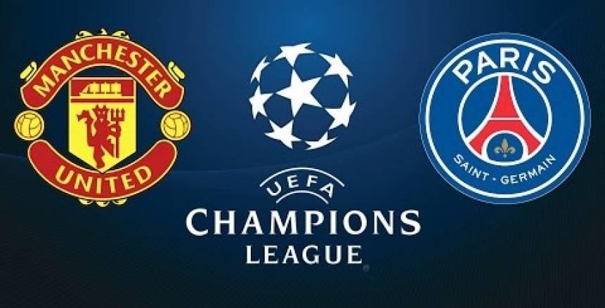 دوري أبطال أوروبا| موعد مباراة مانشستر يونايتد ضد باريس سان جيرمان والقنوات الناقلة