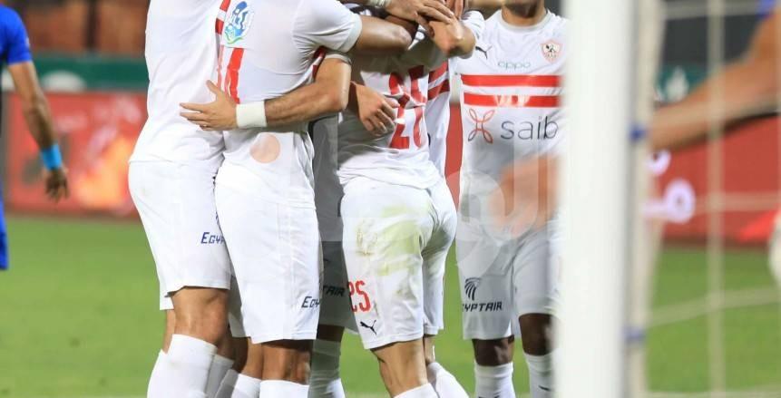 الزمالك يفوز على أسوان 0/3 في الدوري
