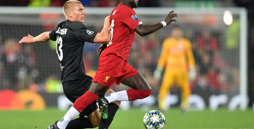 مباراة ليفربول وسالزبورج بدوري أبطال أوروبا