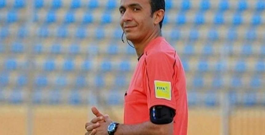 طارق مجدي حكما لمباراة بيراميدز ونادي مصر