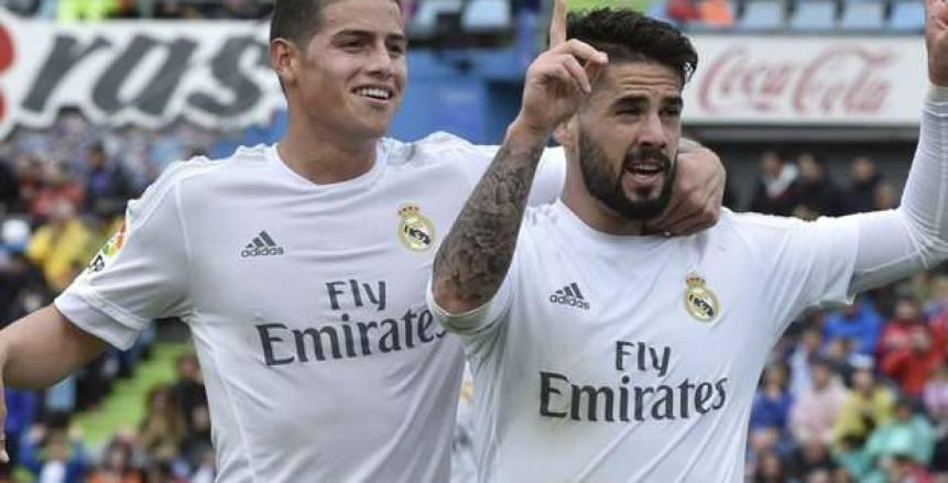 """""""ماركا"""": رودريجيز قد يشارك مع ريال مدريد المباراة المقبلة"""