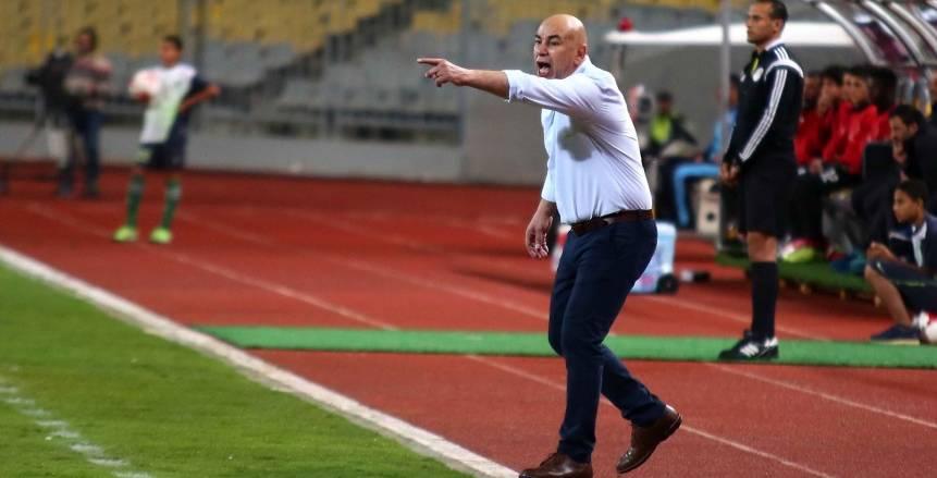 حسام حسن يطالب لاعبي المصري باستعادة صدارة الدوري