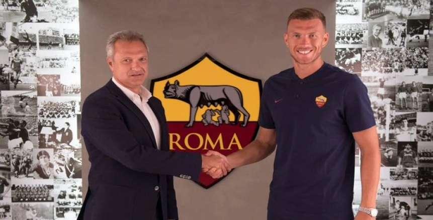 روما يجدد عقد دجيكو حتى عام 2022