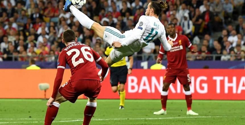 جاريث بيل يصل للهدف رقم 100 بقميص ريال مدريد
