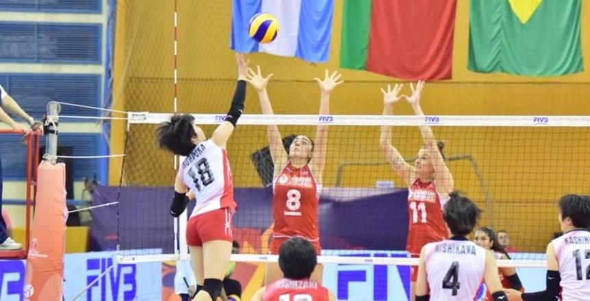 تايلاند تفوز على رومانيا ببطولة العالم لناشئات الكرة الطائرة
