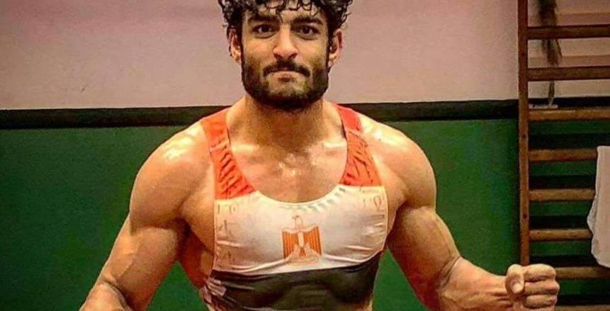 """المصارعة.. """"فوزى"""" يستعد في السويد لبطولة بلغاريا على نفقته الشخصية"""