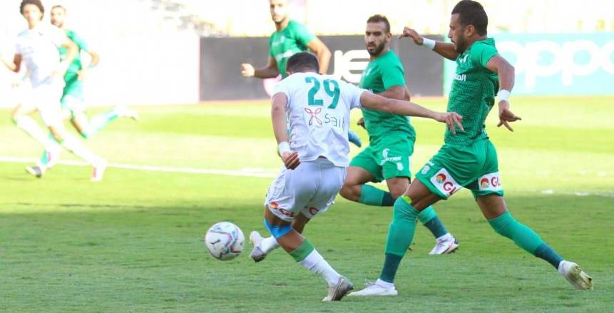 المصري يختتم الدوري بالفوز على وادي دجلة 2\1 (فيديو)
