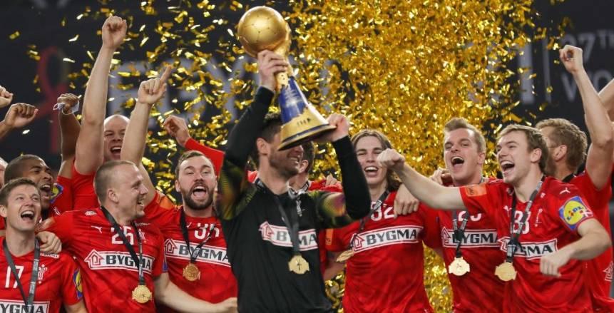منتخب الدنمارك يفوز بكأس العالم لكرة اليد على حساب السويد