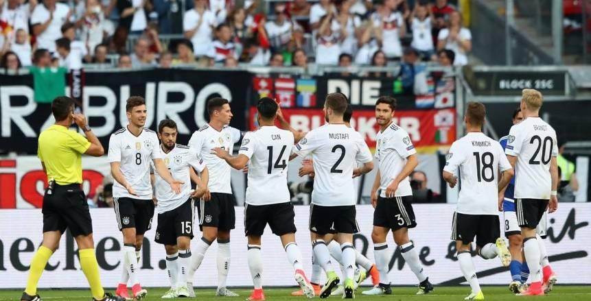11 لاعبًا من 11 فريقًا في تشكيل ألمانيا أمام سان مارينو
