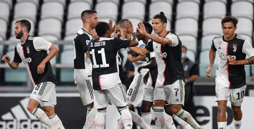 ثنائية رونالدو تقود يوفنتوس للفوز على كالياري في الدوري الإيطالي